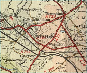 Wishaw Map